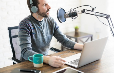 Best Freelance Voice over or Podcast Artist Infographic