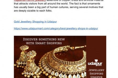 Best Gold Jewellery Showrooms in Udaipur Infographic