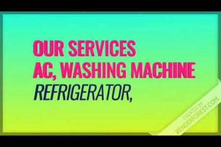 Best Home Appliance Service Provider in Bangalore Infographic