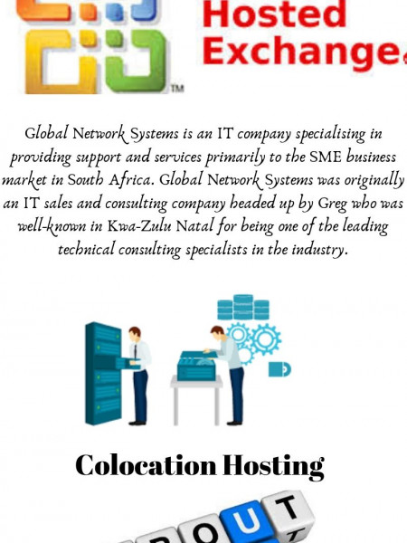 Best Hosting Exchange Provider in South Africa Infographic