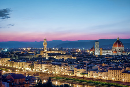 Best Hotels near Accademia Gallery Florence Infographic