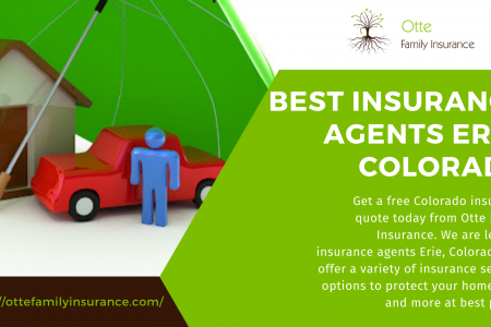 Best Insurance Agents Erie, Colorado Infographic