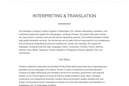 Best interpreters & translators for interpreting and translation in any language Infographic