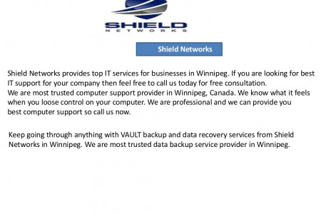 Best IT company for small businesses in Winnipeg Infographic
