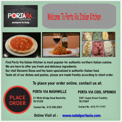 Best italian restaurant nashville - Porta via italian kitchen nashville tn ...