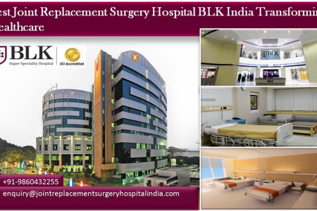 Best Joint Replacement Surgery Hospital BLK India Transforming Healthcare  Infographic