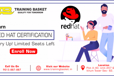 Best Linux RHCSA Training in Noida | Red Hat Certification Infographic