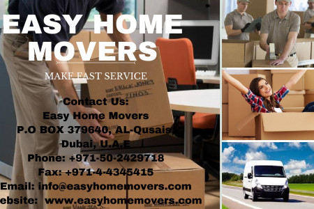 Best Moving and Storage Company in Dubai Infographic