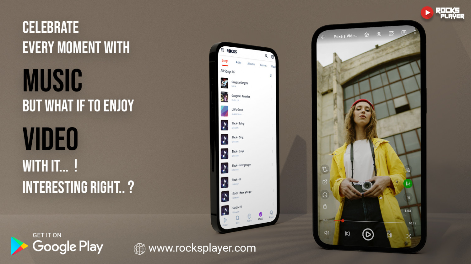 Best Music & Video Player For Android Infographic