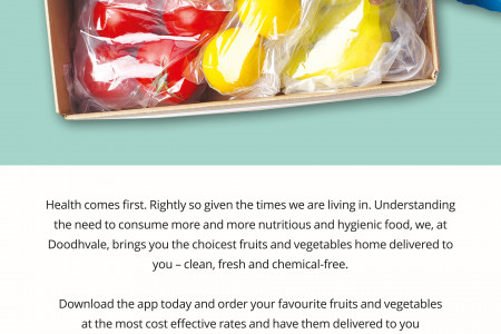 Best offers for Fruits and Vegetables by Doodhvale Infographic