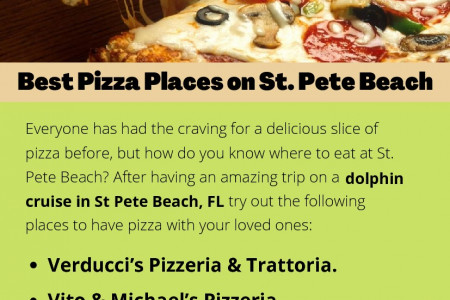 Best Pizza Places on St. Pete Beach Infographic