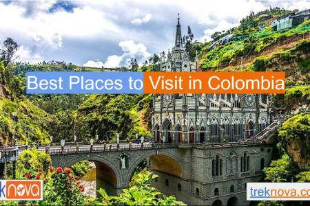 Best Place to Visit In Colombia Infographic