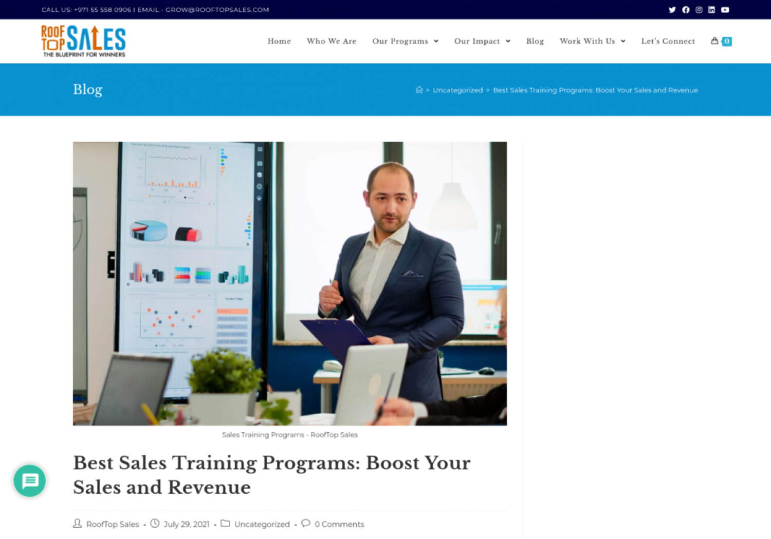 Best Sales Training Programs: Boost Your Sales and Revenue Infographic