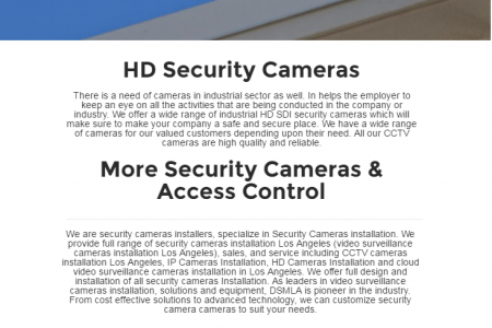 Best Security Cameras Installer Los Angeles Infographic
