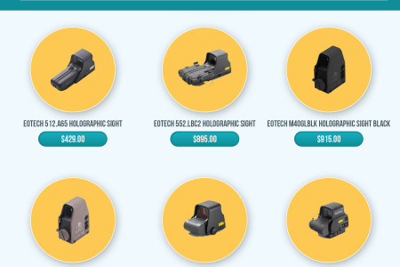 Best Selling EOTech Holographic Sights Online Infographic
