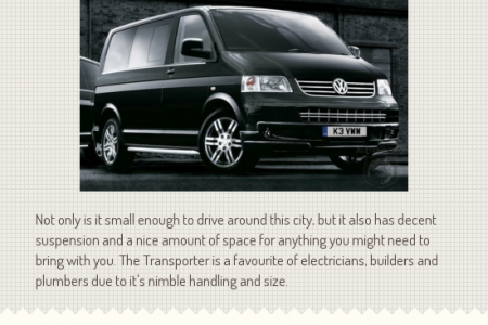 Best Selling Vans of 2013 Infographic