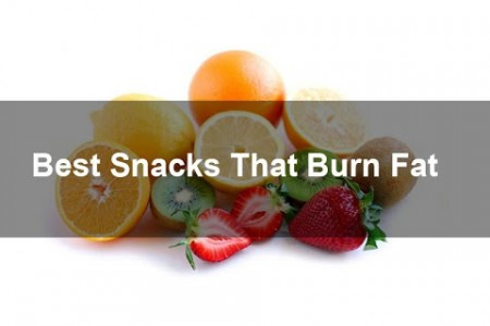 Best Snacks That Burn Fat Infographic