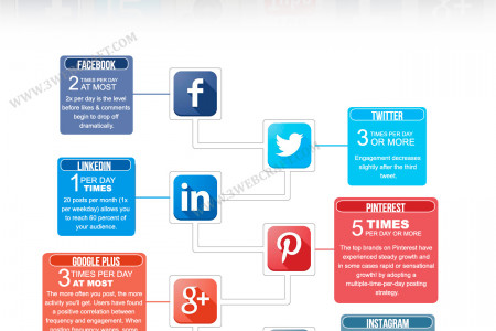 Best Social Media Practices For Promotion Infographic