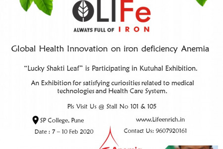 Best solution for Iron Deficiency Infographic