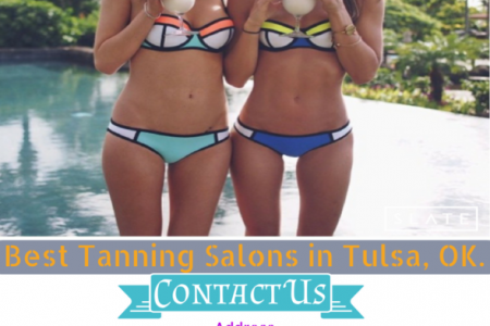 Best Tanning Salons in Tulsa, OK. Infographic