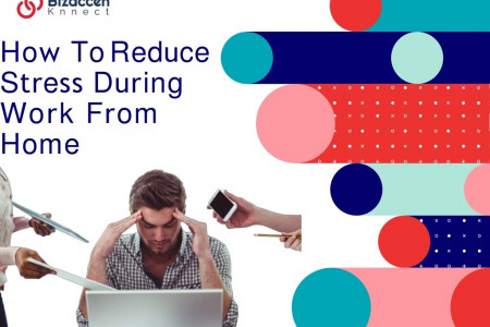 Best Tips To Reduce Working From Home Stresses Infographic