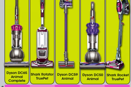 Best Vacuums for Pet Hair 2015 Infographic Infographic