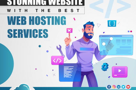 Best Web hosting services Infographic