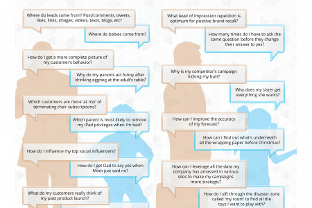 Big Data 2013: Why Marketers and Their Kids are Asking the Same Questions Infographic