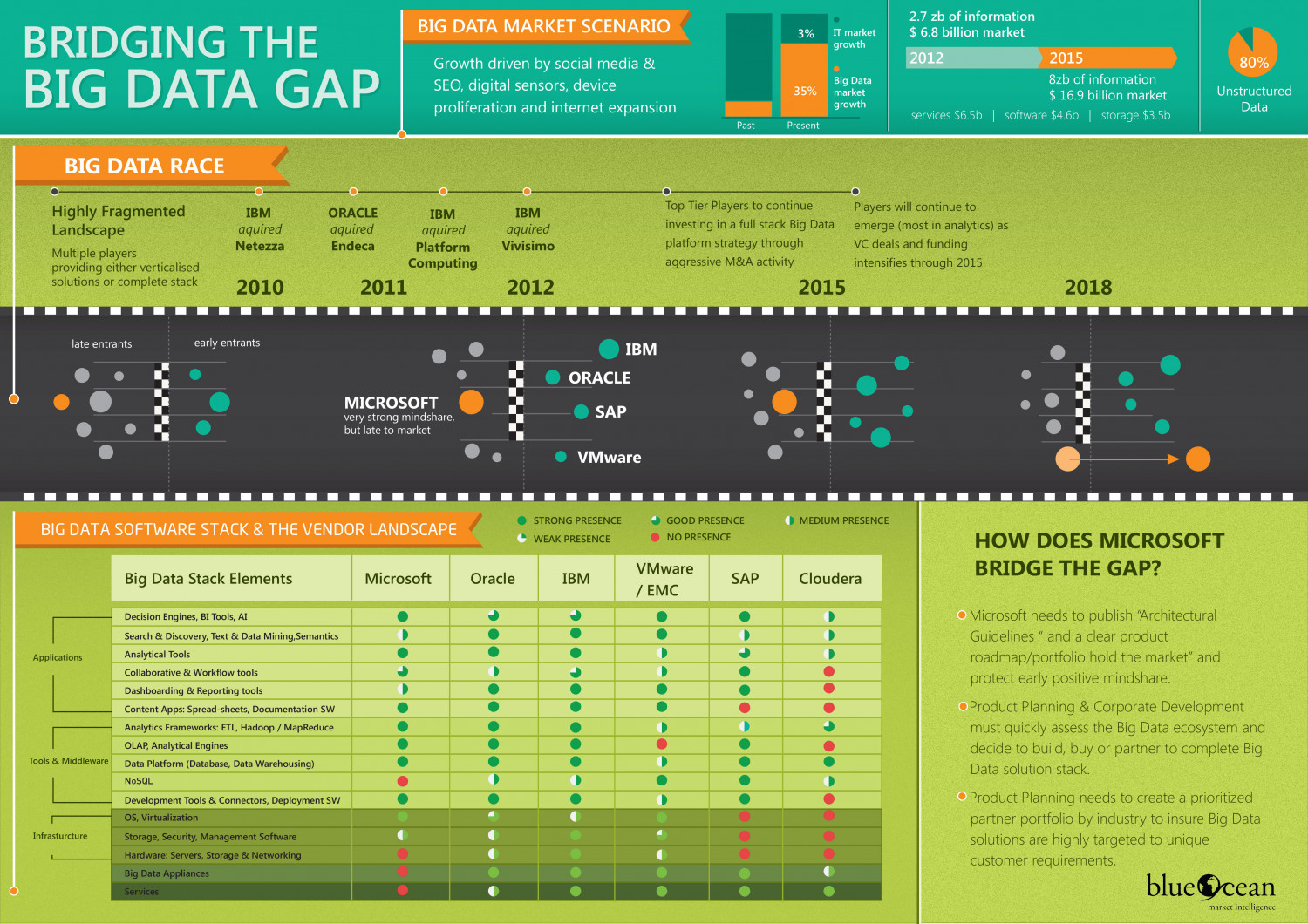 Big Data Race Infographic