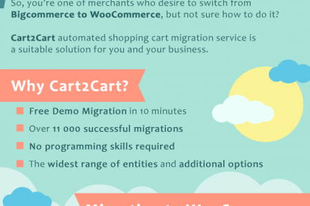 Bigcommerce to WooCommerce Migration Infographic
