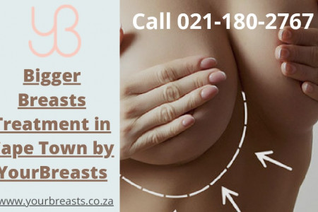 Bigger Breasts Treatment in Cape Town by YourBreasts Infographic