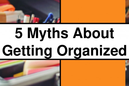 The 5 Biggest Organizing Myths Infographic
