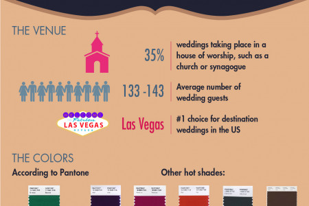 Biggest Bridal Trends of 2013 Infographic