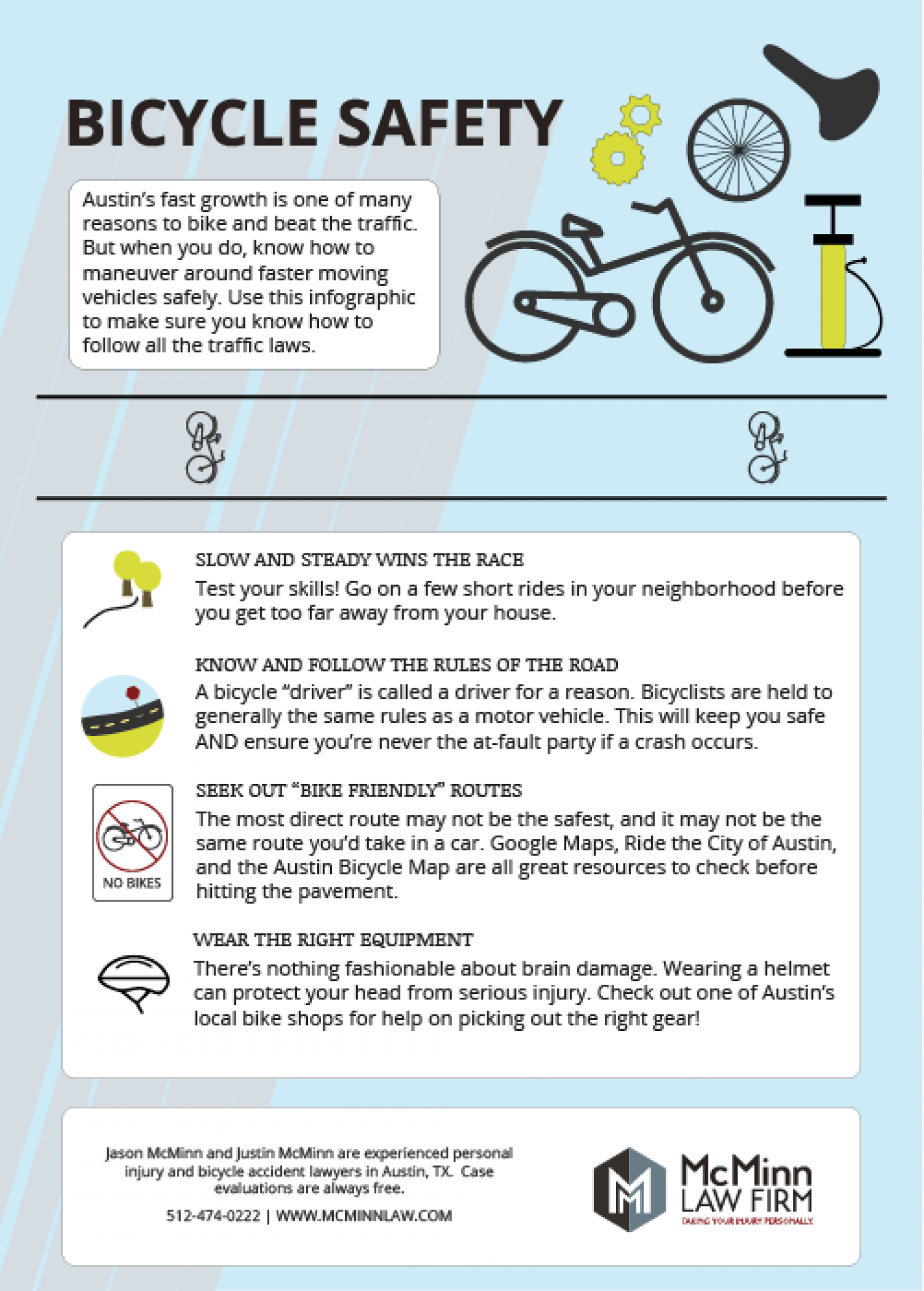 Bike Austin: Know How to Navigate the Capital City by Bicycling Infographic