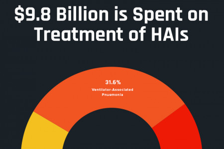 Billions Spent on Healthcare-Associated Infections Infographic