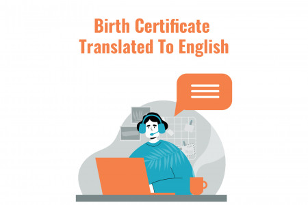 Birth Certificate Translated to English Infographic