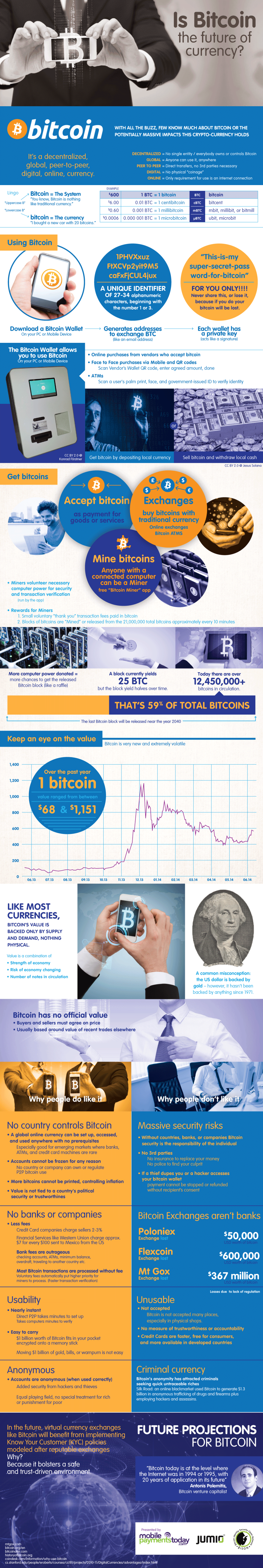Bitcoin: The Future of Currency? Infographic