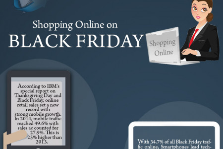 Black Friday Shopping Tips Infographic