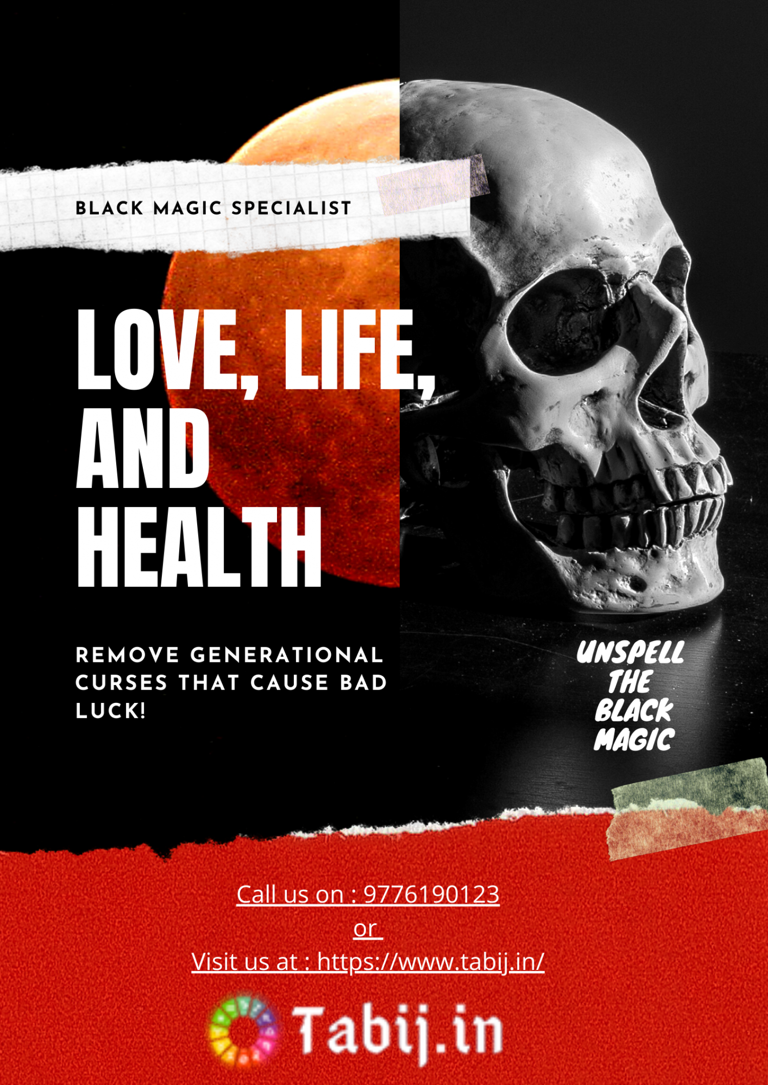 Black Magic Expert Solution By Astrologer Specialist In Delhi Infographic