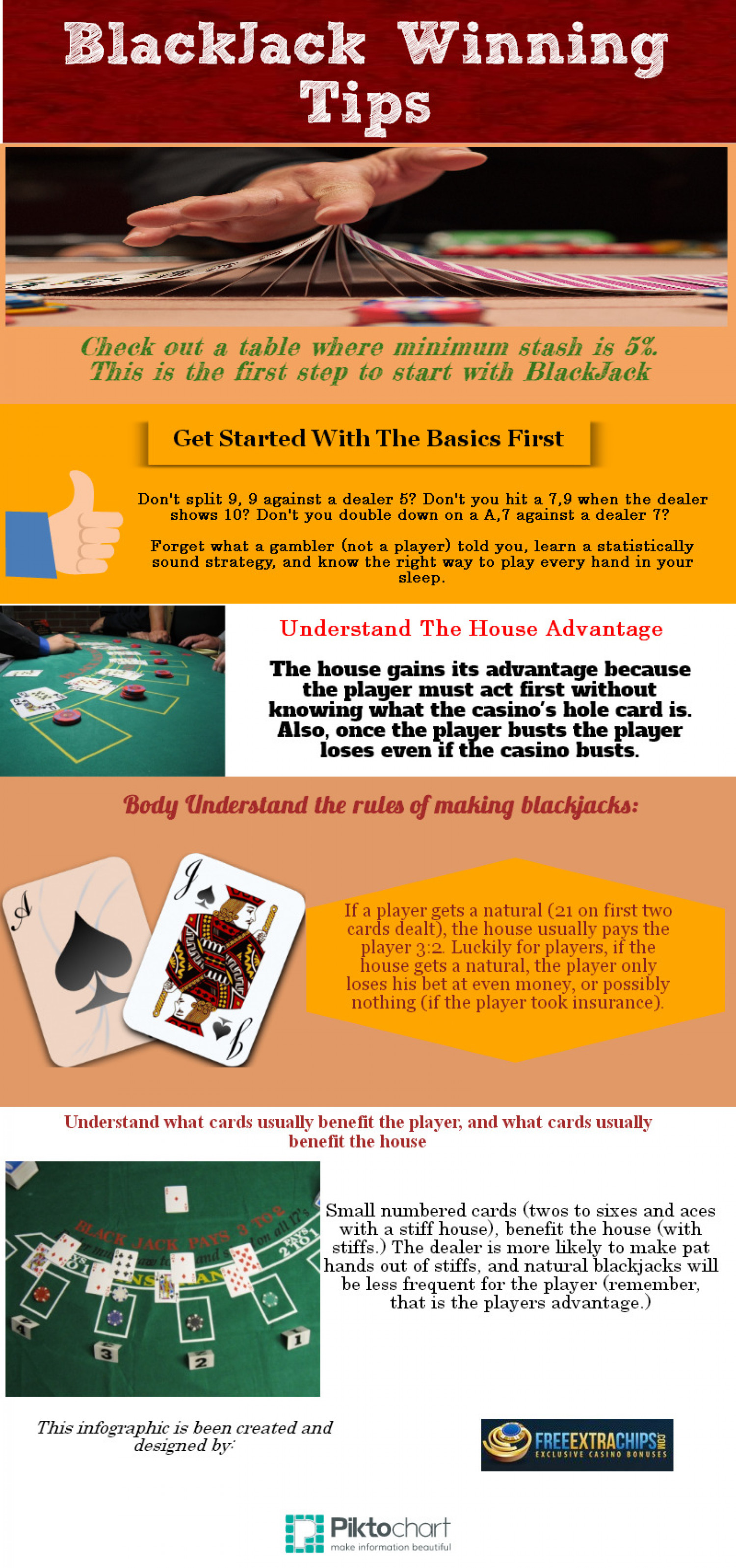 blackjack winning tips