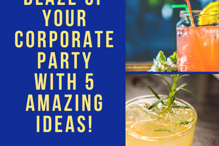 Blaze Up Your Corporate Party With 5 Amazing Ideas! Infographic