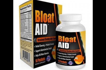Bloat Aid - Bloating Belly/Stomach Relief + Water Balance | Herbal + Probiotic Infographic