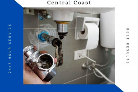 Blocked Drain Plumber Central Coast Infographic