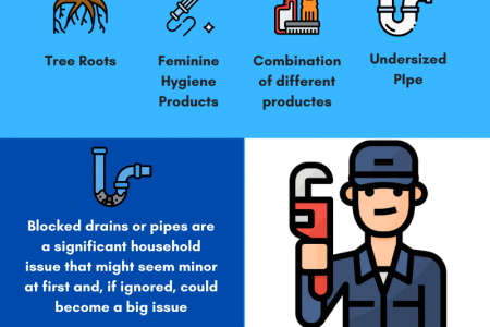 Blocked Drains-Root Causes and Prevention Methods Infographic