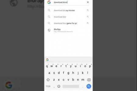 BlurSpy Installation Guide- Android Infographic