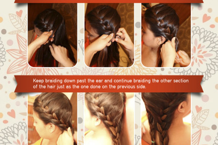 Boho Braid [Tutorial] Infographic
