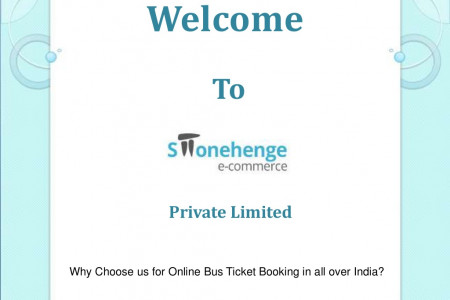 Book Bus Tickets with Discount Price - Stonehenge E-Commerce Infographic