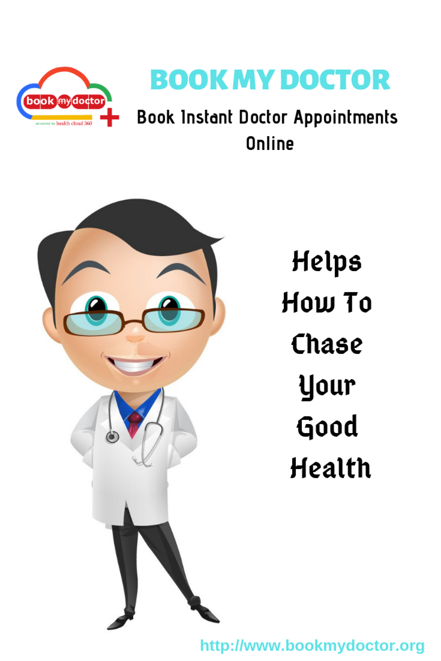 Book My Doctor: An Online Appointment Booking Service Infographic