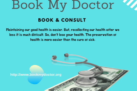 Book My Doctor: book and consult the doctor Infographic
