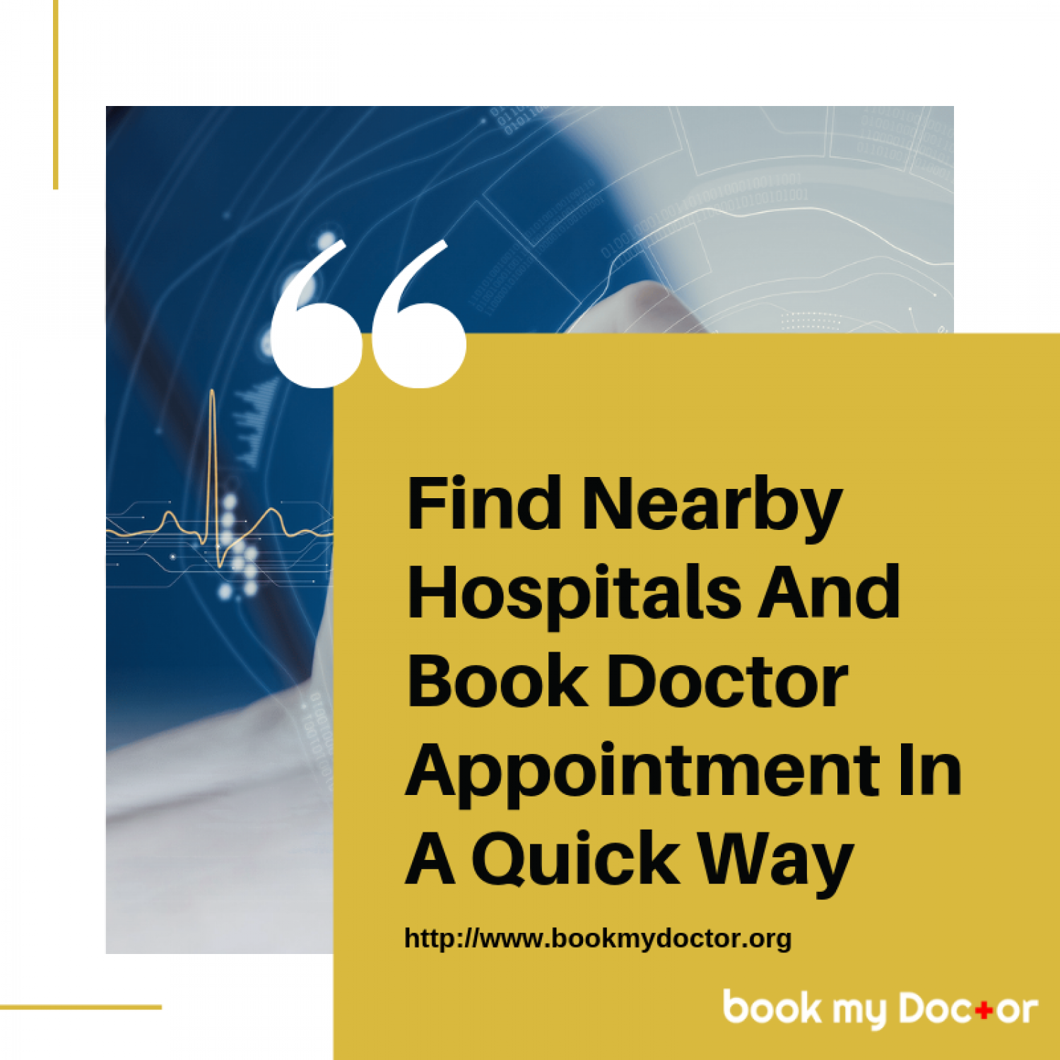 Book My Doctor: Consult doctor by booking an appointment online Infographic